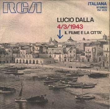 Lucio Dalla - 4 Marzo 1943  - Copertina disco