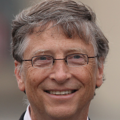 Bill Gates - Microsoft windows 8