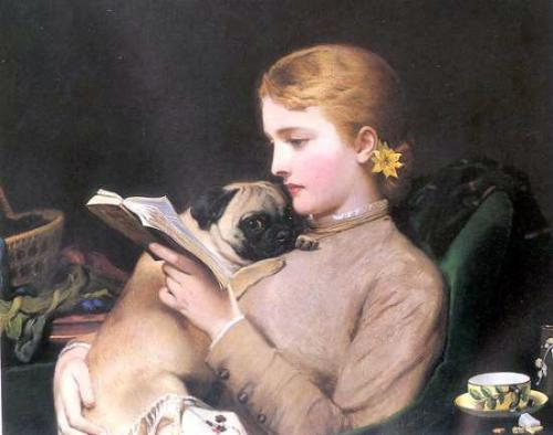 C.B. Barber: Donna che legge