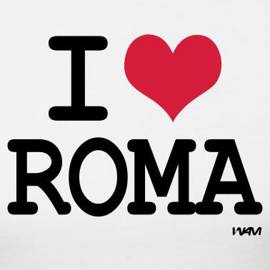 I love Roma - Dizionario Inglese/Romano