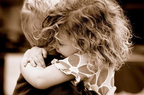 Il linguaggio degli abbracci