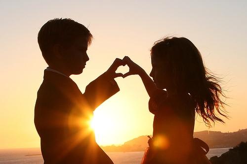 Bambini - amore - mondo