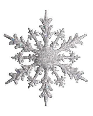 Cristallo bianco di fiocco di neve