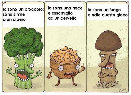 broccolo noce fungo