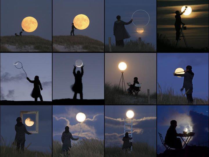Luna - Moon  - Lune