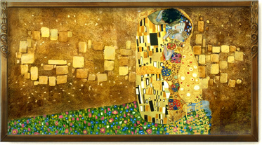 Klimt the kiss - the kuss - il bacio