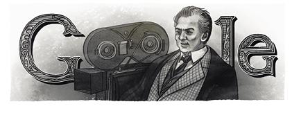 Google - Doodle - Federico Fellini