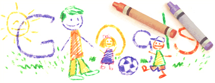 Google - Doodle del giorno 19 Marzo 2012  Festa del Papà
