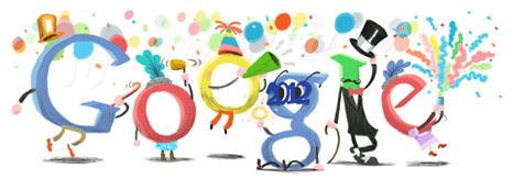 Google Doodle - Buon anno 2012