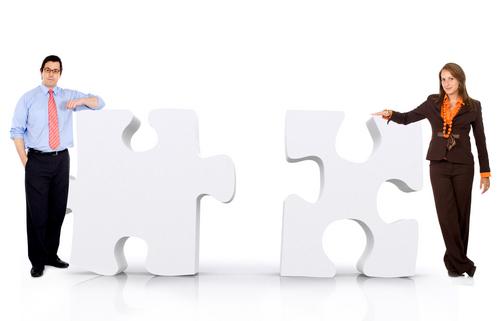 Team - Equipe - Gruppo - Puzzle