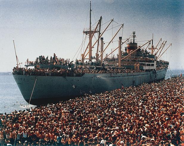 Sbarchi di albanesi nel 1991