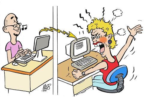 Netiquette in rete