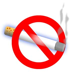No smoking - non fumare - vietato fumare