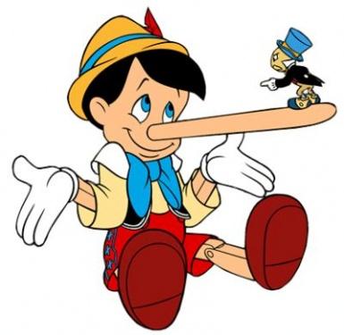 Pinocchio - bugia