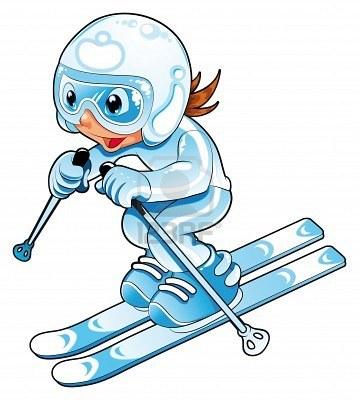 Sciatore bambino
