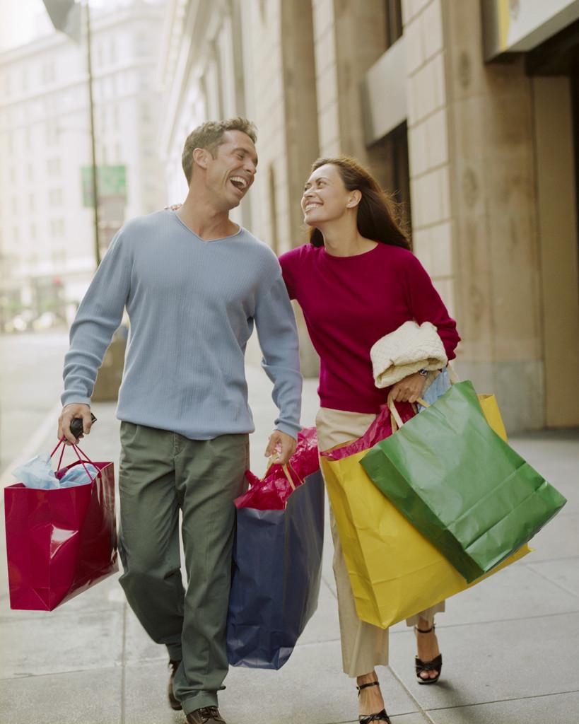 Shopping marito moglie