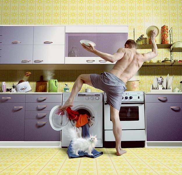 Uomo single - casalingo