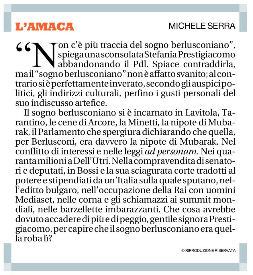 Amaca - Michele Serra