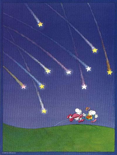 Pioggia di stelle - Mordillo - Stelle cadenti